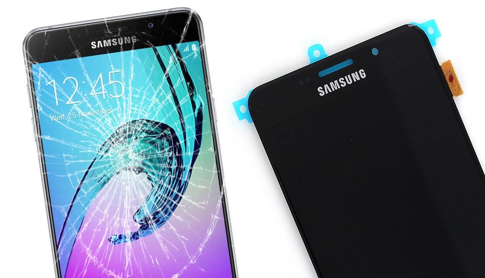 Acheter un bloc écran pour réparer celui d'un Galaxy A7 2016