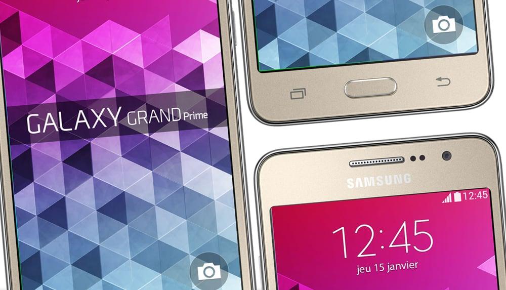 Galaxy Grand Prime VE : son grand écran, son atout majeur !