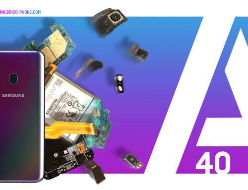 Le Samsung Galaxy A40, un modèle difficile à réparer ?