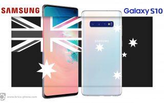 Samsung attaqué en Australie sur l'étanchéité du Galaxy S10