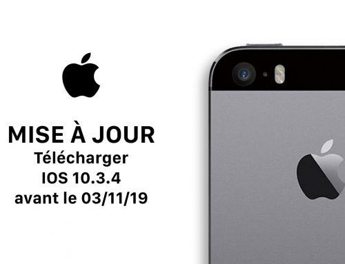 Apple – Une mise à jour importante à faire – 3 Novembre 2019