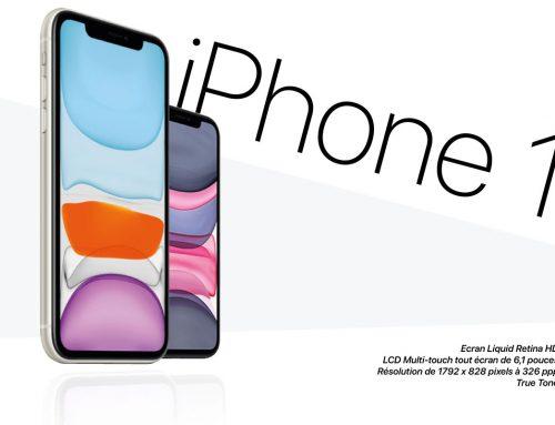 iPhone 11 d'Apple, n°1 des ventes au premier trimestre 2020 !