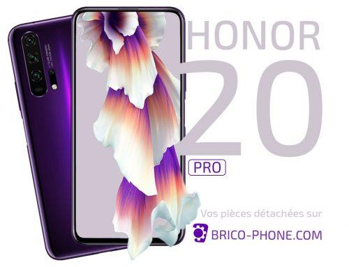 Honor 20 Pro : faites confiance à Brico-phone pour vos pièces !