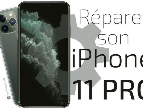 Réparer son iPhone 11 Pro grâce à l'achat de pièces détachées