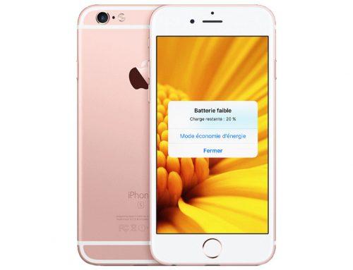 iPhone 6S : une nouvelle batterie pour une meilleure autonomie