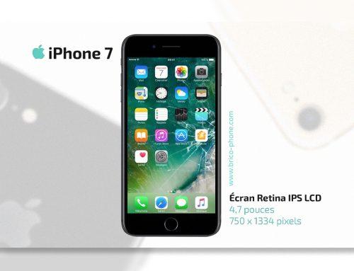 Réparer à prix doux l'écran cassé ou en panne d'un iPhone 7