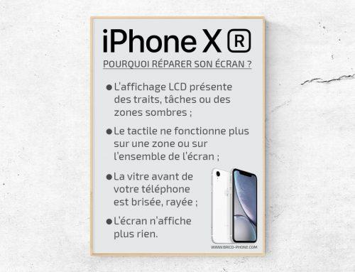 Les cas où il est possible de réparer l'écran de son iPhone XR
