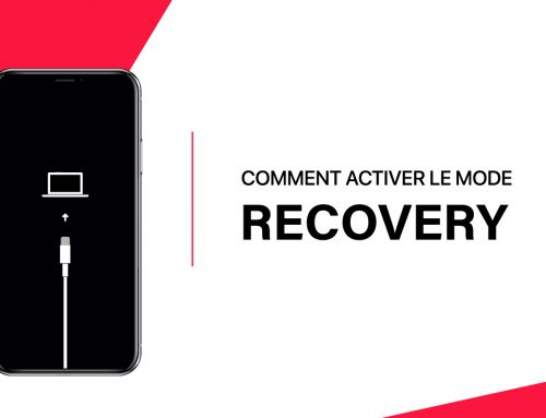 Comment passer son iPhone en mode Recovery ?