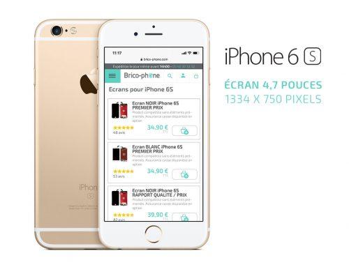 iPhone 6S : pourquoi remplacer soi-même l'écran HS ou brisé ?