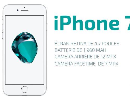 iPhone 7 : un choix varié de pièces détachées pour le réparer